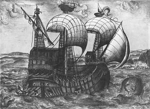 Welser-Galeone Venezuela-Flotte 1534/5